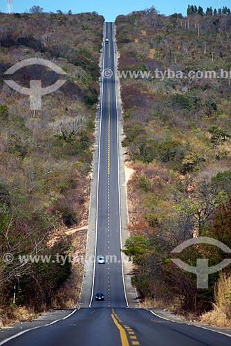 Assunto: Rodovia BR-135 - também conhecida como Transpiauí - próximo à Formosa do Rio Preto / Local: Formosa do Rio Preto - Bahia (BA) - Brasil / Data: 07/2013
