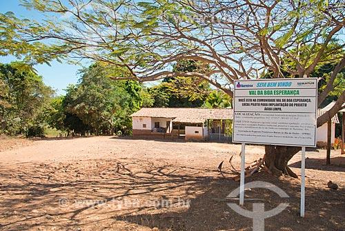 Assunto: Casa em Val da Boa Esperança - região onde foi encontrada a terceira reserva mundial de Tálio / Local: Barreiras - Bahia (BA) - Brasil / Data: 07/2013