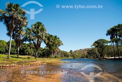 Assunto: Rio de Ondas em Val da Boa Esperança - região onde foi encontrada a terceira reserva mundial de Tálio / Local: Barreiras - Bahia (BA) - Brasil / Data: 07/2013