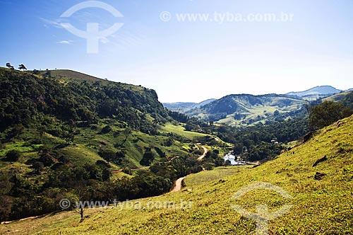 Assunto: Vista do Rio Aiuruoca / Local: Aiuruoca - Minas Gerais (MG) - Brasil / Data: 07/2013