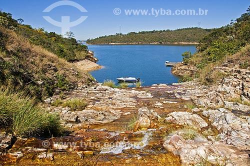 Assunto: Lago Azul na Represa de Furnas / Local: Capitólio - Minas Gerais (MG) - Brasil / Data: 07/2013