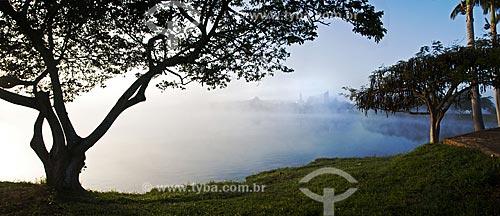 Assunto: Névoa na Represa de Furnas / Local: Boa Esperança - Minas Gerais (MG) - Brasil / Data: 07/2013