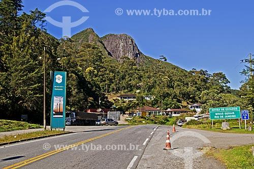 Assunto: Entrada de Itamonte - divisa entre Rio de Janeiro e Minas Gerais / Local: Itamonte - Minas Gerais (MG) - Brasil / Data: 07/2013