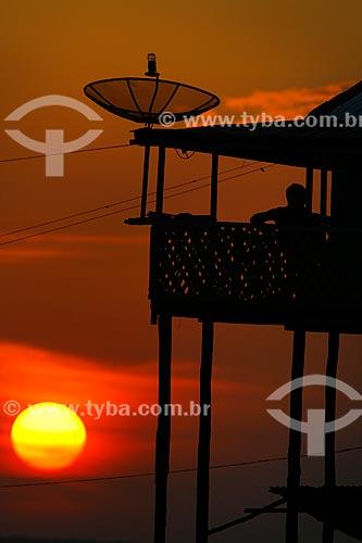 Assunto: Pôr do Sol no bairro do São Raimundo / Local: Manaus - Amazonas (AM) - Brasil / Data: 09/2011