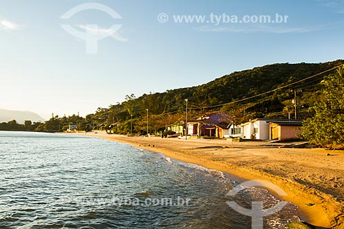 Assunto: Praia na Caieira da Barra do Sul / Local: Florianópolis - Santa Catarina (SC) - Brasil / Data: 08/2013
