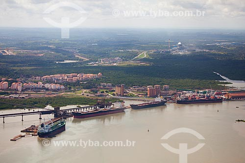 Assunto: Vista aérea do Complexo Portuário de Itaqui / Local: São Luis - Maranhão (MA) - Brasil / Data: 06/2013