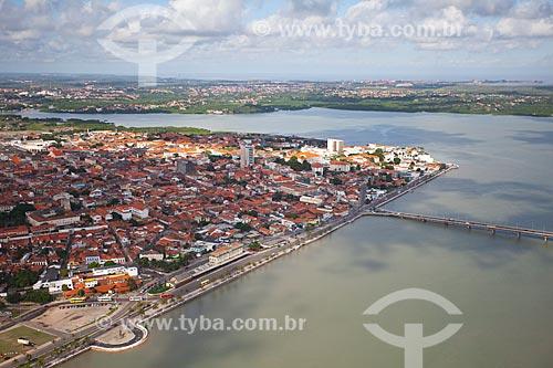 Assunto: Vista aérea do centro histórico de São Luis / Local: São Luis - Maranhão (MA) - Brasil / Data: 06/2013