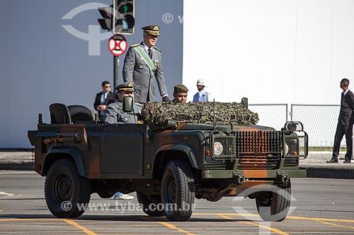 Assunto: General Ueliton José Montezano Vaz - Comando Militar do Leste - durante o desfile em comemoração ao Sete de Setembro na Avenida Presidente Vargas / Local: Centro - Rio de Janeiro (RJ) - Brasil / Data: 09/2013
