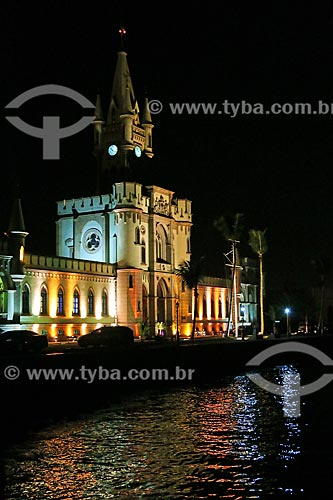 Assunto: Palácio da Ilha Fiscal à noite / Local: Rio de Janeiro (RJ) - Brasil / Data: 10/2013