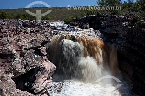 Assunto: Cachoeira no Rio Espalhado / Local: Ibicoara - Bahia (BA) - Brasil / Data: 09/2012