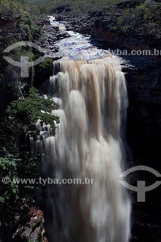 Assunto: Cachoeira do Buracão no Rio Espalhado / Local: Ibicoara - Bahia (BA) - Brasil / Data: 09/2012