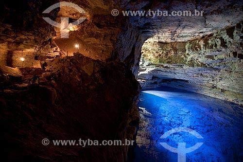 Assunto: Vista do Poço Encantado / Local: Itaetê - Bahia (BA) - Brasil / Data: 09/2012