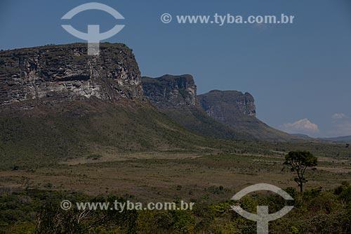 Assunto: Vista do Morro Três Irmãos / Local: Lençóis - Bahia (BA) - Brasil / Data: 09/2012