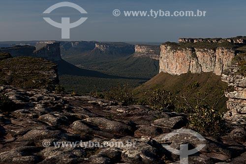 Assunto: Vista do Morro do Pai Inácio com o Morro do Camelo à esquerda / Local: Lençóis - Bahia (BA) - Brasil / Data: 09/2012