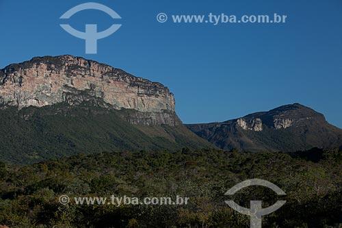 Assunto: Morro Branco no Vale do Capão / Local: Palmeiras - Bahia (BA) - Brasil / Data: 09/2012
