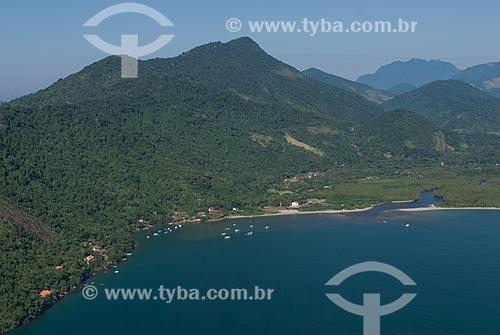 Assunto: Foto aérea da Área de Proteção Ambiental de Cairuçu / Local: Paraty-Mirim - Paraty - Rio de Janeiro (RJ) - Brasil / Data: 04/2011