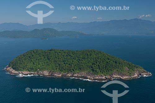 Assunto: Foto aérea da Ilha dos Meros na Área de Proteção Ambiental de Cairuçu / Local: Paraty-Mirim - Paraty - Rio de Janeiro (RJ) - Brasil / Data: 04/2011