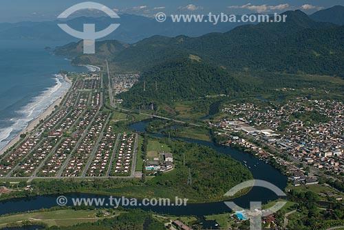 Assunto: Foto aérea do distrito de Mambucada / Local: Distrito de Mambucada - Angra dos Reis - Rio de Janeiro (RJ) - Brasil / Data: 04/2011