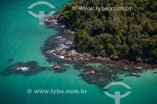 Assunto: Foto aérea da Ilha do Maia na Baía da Jacuecanga / Local: Angra dos Reis - Rio de Janeiro (RJ) - Brasil / Data: 04/2011
