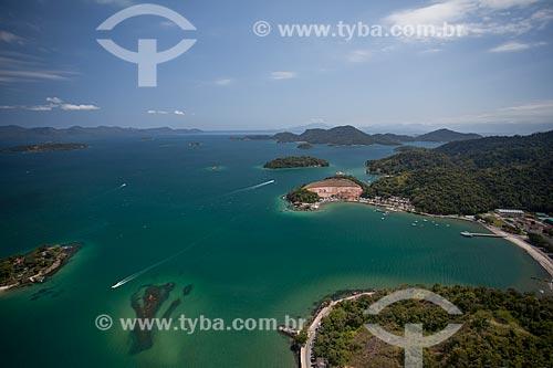 Assunto: Foto aérea da cidade de Angra dos Reis próximo ao Colégio Naval / Local: Angra dos Reis - Rio de Janeiro (RJ) - Brasil / Data: 04/2011
