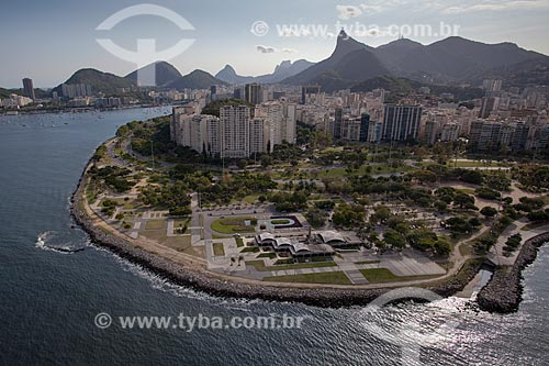 Assunto: Foto aérea do restaurante Porcão Rios no Aterro do Flamengo / Local: Flamengo - Rio de Janeiro (RJ) - Brasil / Data: 04/2011