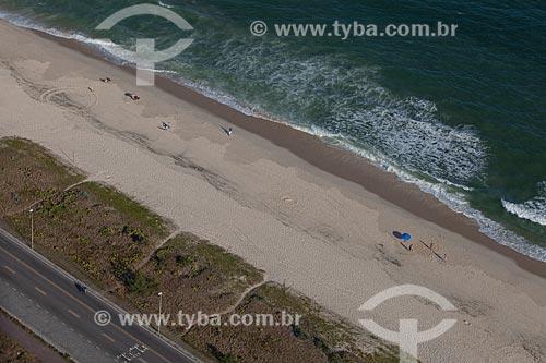 Assunto: Foto aérea da Praia da Reserva / Local: Barra da Tijuca - Rio de Janeiro (RJ) - Brasil / Data: 03/2012