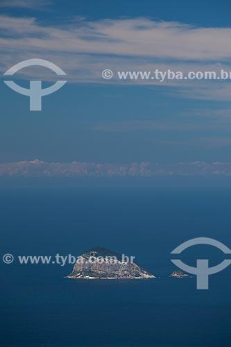 Assunto: Ilha Redonda no Arquipélago das Cagarras / Local: Rio de Janeiro (RJ) - Brasil / Data: 05/2013