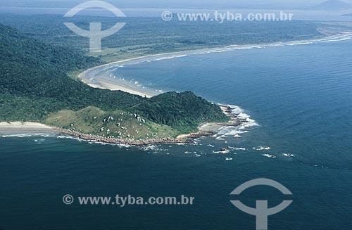 Assunto: Praia de Foles e Cambriú no Parque Estadual da Ilha do Cardoso / Local: Cananéia - São Paulo (SP) - Brasil / Data: 04/2010