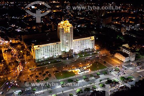 Assunto: Foto aérea do Palácio Duque de Caxias (1941) com a Avenida Presidente Vargas (1944) / Local: Centro - Rio de Janeiro (RJ) - Brasil / Data: 04/2011