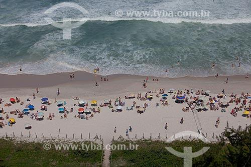 Assunto: Banhistas na Praia da Barra da Tijuca / Local: Barra da Tijuca - Rio de Janeiro (RJ) - Brasil / Data: 07/2013
