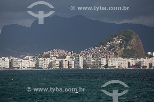 Assunto: Vista do Morro do Cantagalo com a Favela do Cantagalo e Pavão Pavãozinho / Local: Ipanema - Rio de Janeiro (RJ) - Brasil / Data: 09/2013