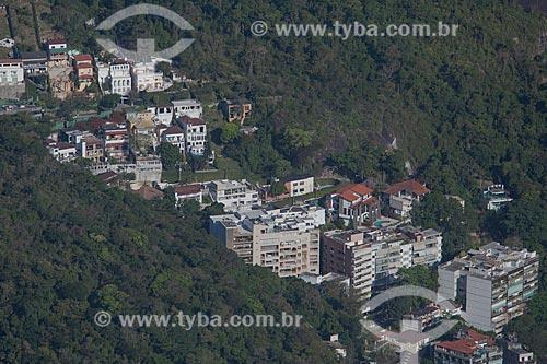 Assunto: Prédios no Morro dos Cabritos / Local: Lagoa - Rio de Janeiro (RJ) - Brasil / Data: 09/2013