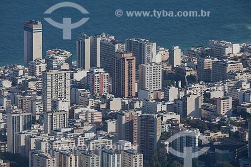 Assunto: Vista de edifícios em Ipanema a partir do Morro do Corcovado / Local: Ipanema - Rio de Janeiro (RJ) - Brasil / Data: 09/2013