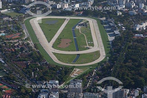 Assunto: Foto aérea do Hipódromo da Gávea / Local: Gávea - Rio de Janeiro (RJ) - Brasil / Data: 09/2013