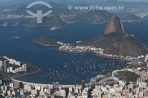 Assunto: Enseada de Botafogo com o Pão de Açúcar / Local: Botafogo - Rio de Janeiro (RJ) - Brasil / Data: 09/2013