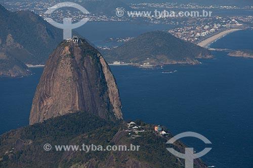 Assunto: Pão de Açúcar com Niterói ao fundo / Local: Botafogo - Rio de Janeiro (RJ) - Brasil / Data: 09/2013
