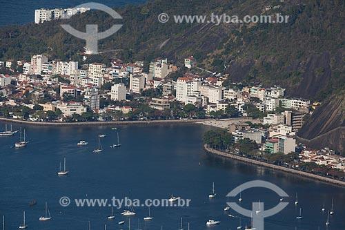 Assunto: Foto aérea da Urca / Local: Urca - Rio de Janeiro (RJ) - Brasil / Data: 09/2013