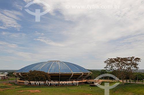 Assunto: Ginásio Poliesportivo de Ilha Solteira conhecido como Disco Voador / Local: Ilha Solteira - São Paulo (SP) - Brasil / Data: 10/2013