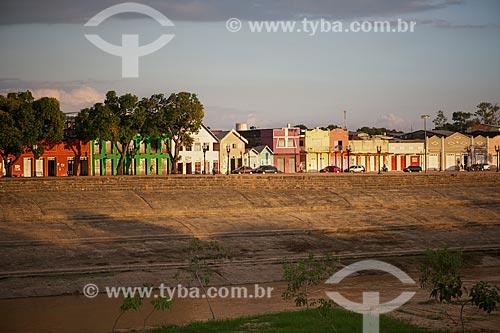 Assunto: Vista do calçadão da gameleira às margens do Rio Acre / Local: Rio Branco - Acre (AC) - Brasil / Data: 05/2013