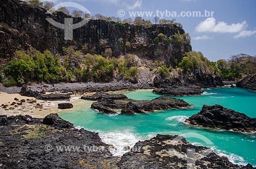 Assunto: Penhasco na Baía dos Porcos / Local: Arquipélago de Fernando de Noronha - Pernambuco (PE) - Brasil / Data: 10/2013