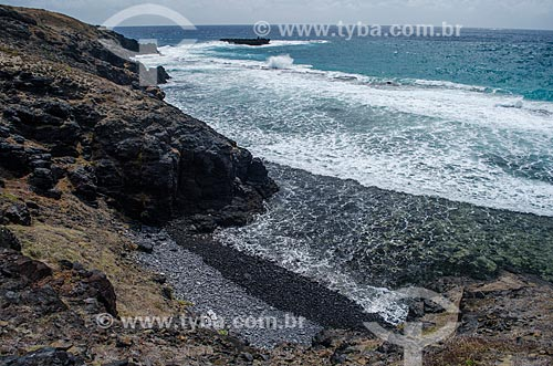 Assunto: Praia de Pedra da Enseada da Caieira / Local: Arquipélago de Fernando de Noronha - Pernambuco (PE) - Brazil / Data: 10/2013