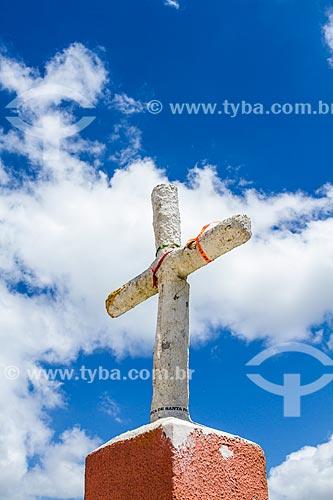 Assunto: Cruz no Santuário Nossa Senhora do Bom Socorro (1912) / Local: Nova Trento - Santa Catarina (SC) - Brasil / Data: 11/2013