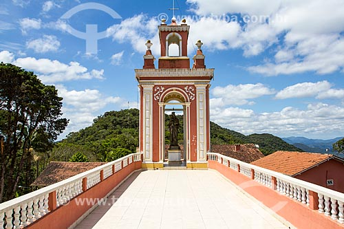 Assunto: Santuário Nossa Senhora do Bom Socorro (1912) / Local: Nova Trento - Santa Catarina (SC) - Brasil / Data: 11/2013
