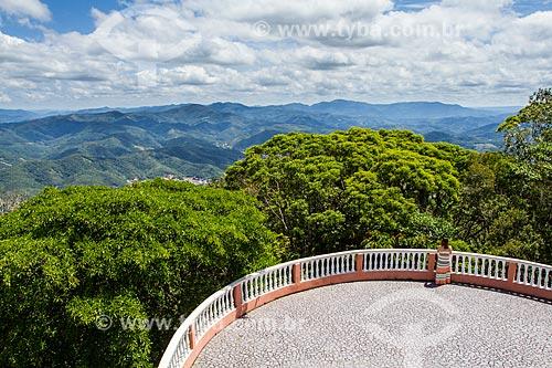 Assunto: Mirante do Santuário Nossa Senhora do Bom Socorro (1912) / Local: Nova Trento - Santa Catarina (SC) - Brasil / Data: 11/2013