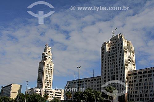 Assunto: Vista do Palácio Duque de Caxias e da Central do Brasil / Local: Centro - Rio de Janeiro (RJ) - Brasil / Data: 09/2013