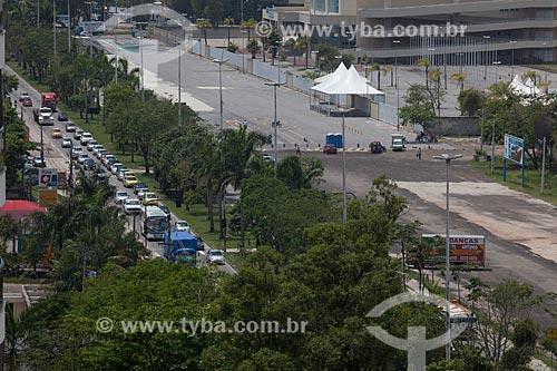 Assunto: Avenida Embaixador Abelardo Bueno próximo ao Parque Aquático Maria Lenk - parte do Parque Olímpico Rio 2016 / Local: Barra da Tijuca - Rio de Janeiro (RJ) - Brasil / Data: 10/2013