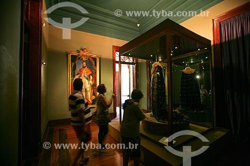 Traje majestático do Imperador Dom Pedro II em exposição no Museu Imperial de Petrópolis  - Petrópolis - Rio de Janeiro - Brasil