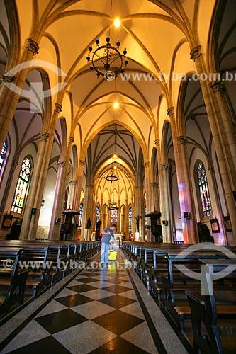 Interior da Catedral de São Pedro de Alcântara (1846)  - Petrópolis - Rio de Janeiro - Brasil