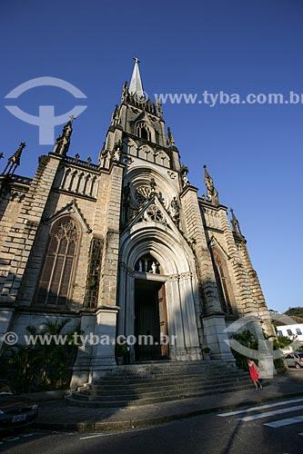 Fachada da Catedral de São Pedro de Alcântara (1846)  - Petrópolis - Rio de Janeiro - Brasil