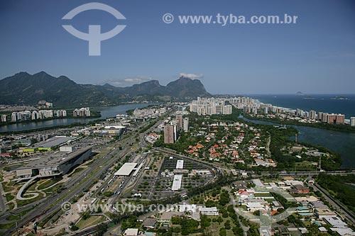 Foto aérea da Avenida das Américas  - Rio de Janeiro - Rio de Janeiro - Brasil